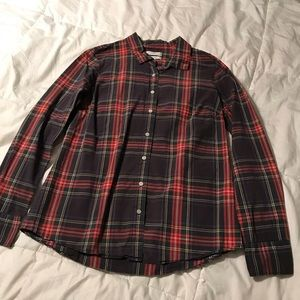 J.Crew Perfect Plaid Shirt